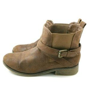 Call It Spring Boots Suede Bootie Ankle Boot 9